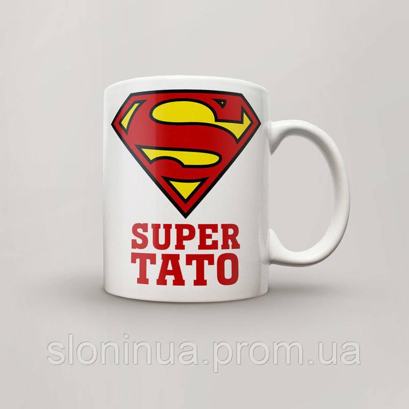 Чашка, Кружка Super Тато , №2