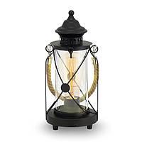 Настольный светильник [ LOFT Vintage - Bradford ] (Чёрный)