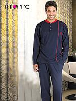 Мужская пижама темно-синяя Miorre, хлопок