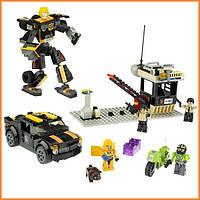 Конструктор KRE-O игрушка Трансформер Бамблби (Bumblebee) Hasbro - 257 деталей
