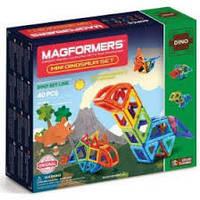 Магнитный конструктор Маленькие динозавры, 40 элементов
