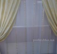 Портьера Жаккард Arya 35463 V152 высота - 270 см, ширина - 150 см