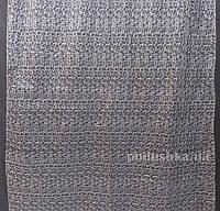 Тюль Органза Arya 2700 с вышивкой Siyah высота - 270 см, ширина - 150 см