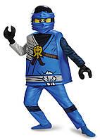 Карнавальный костюм ЛЕГО Ниндзяго Джей Jay Deluxe Ninjago LEGO Costume  4-6 лет, Киев