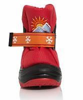 Детские зимние сапоги-дутики Demar (Демар) Sun Rise красные р.20--29 теплющие, есть опт