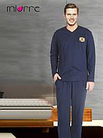 Пижама мужская темно-синяя Miorre, хлопок