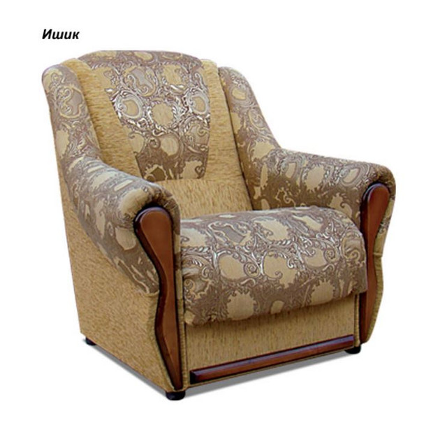 Кресло Квебек ткань Ишик коричневый