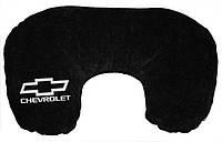 Подушка-рогалик для шеи Chevrolet черный