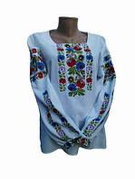 Вышитая блузка Цветы Борщевчины (Женские и мужские вышиванки)