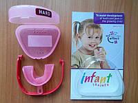 Преортодонтический трейнер Infant розовый Hard (жесткий), фото 1