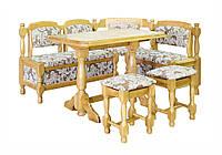 Кухонный дубовый уголок Мебель-Сервис