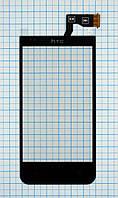 Тачскрин сенсорное стекло для HTC Desire 300 black