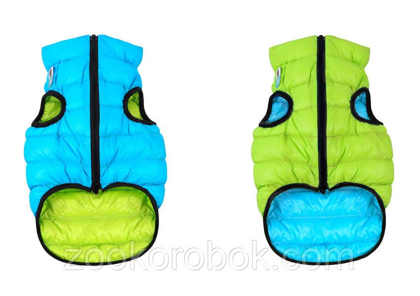 ec2411e6ed06e Курточка двухсторонняя Collar AiryVest, салатово-голубая, S 40 1616 ...