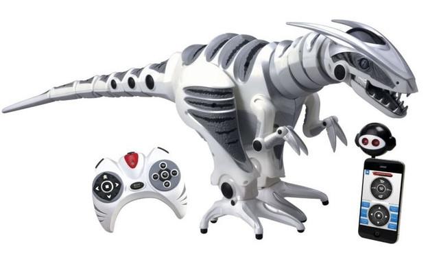Динозавры и роботы на радиоуправлении