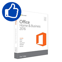 Microsoft Office Home and Business 2016 for Mac MultiLanguage (download) (Microsoft Corporation)