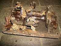 Крышка КПП с вилками в сборе130-1702010-С1