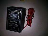 Терморегулятор цифровой высокоточный на розетке двух пороговый, фото 1