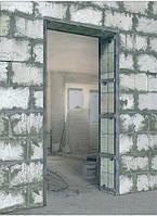 Укрепление стен металлоконструкциями Киев