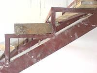 Металлокаркасы для комбинированных лестниц Киев