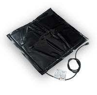 Декристаддизатор. Нагревательный коврик под бочку 200 л 500 мм х 500 мм разогрев до +40°С