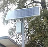 Фонарь уличного освещения светодиодный 15 Вт с солнечной батареей 140Вт