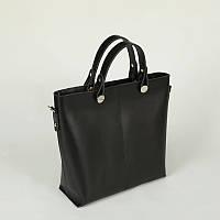 Кожаная деловая классическая женская сумка
