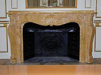 Мраморный портал в частный дом