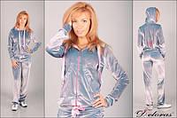 Бархатный женский спортивный костюм Deloras