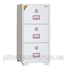 Картотека огнестойкая DFC 3000 К (ВхШхГ-1124х528х675)