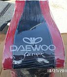 Подлокотник NEW красный с вышивкой Daewoo Lanos, фото 3