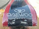 Подлокотник NEW красный с вышивкой Daewoo Lanos, фото 4