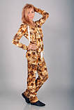 Модный костюм для прогулок Deloras золотой леопард, фото 3