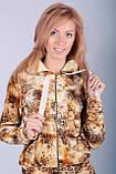 Модный костюм для прогулок Deloras золотой леопард, фото 4