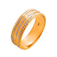 Обручальные кольца с белым золотом