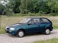 Лобовое стекло Suzuki SWIFT III GLX 5Д ,Сузуки Свифт 1989-2005 -AGC