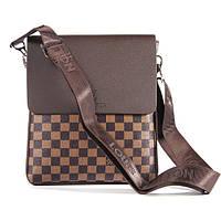 Стильная сумка Louis Vuitton. Кожаная сумка. Удобная, модная сумка на плече. Износостойкая сумка. Код: КБН164