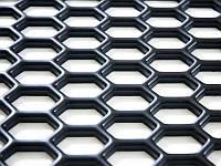 Сетка пластиковая для тюнинга 140x39 см крупная