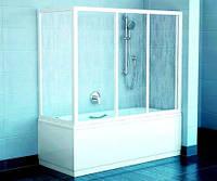 Раздвижные шторки в ванную
