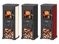 Чугунная печь-камин BLIST Ekonomik LUX 7 кВт