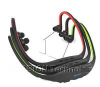 Беспроводные портативные Bluetooth-гарнитура  Wrap Around спортивные наушники для бега (синий цвет)