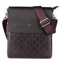 Мужская сумка через плече Gucci. Сумка для тетрадок. Сумка мессенджер. Дизайнерская сумка. Код: КБН166
