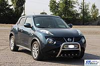 Nissan Juke 2010+ гг. Кенгурятник QT012 (нерж)