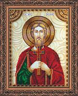 Набор для вышивки бисером именной иконы Святой Назарий (Назар) AA-136