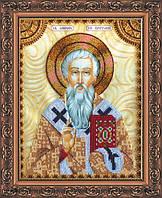 Набор для вышивки бисером именной иконы Святой Мирон AA-139