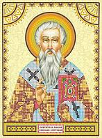 Схема для вышивки иконы бисером на холсте Святой Мирон ACK-139