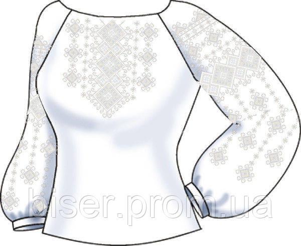 Заготовка вышивки бисером Женская сорочка СВЖП-38 365b21385814f