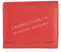 Маленький женский кожаный кошелек с монетницей высокого качества LOUI VEARNER art. LOU107-520B красный