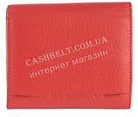 Маленький женский кожаный кошелек с монетницей высокого качества LOUI VEARNER art. LOU107-520B красный, фото 1