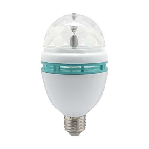 Светодиодная лампа (Диско) Feron LB-800 3W E27 RGB