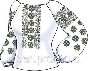 Заготовка вышивки бисером Женская сорочка СВЖ-42